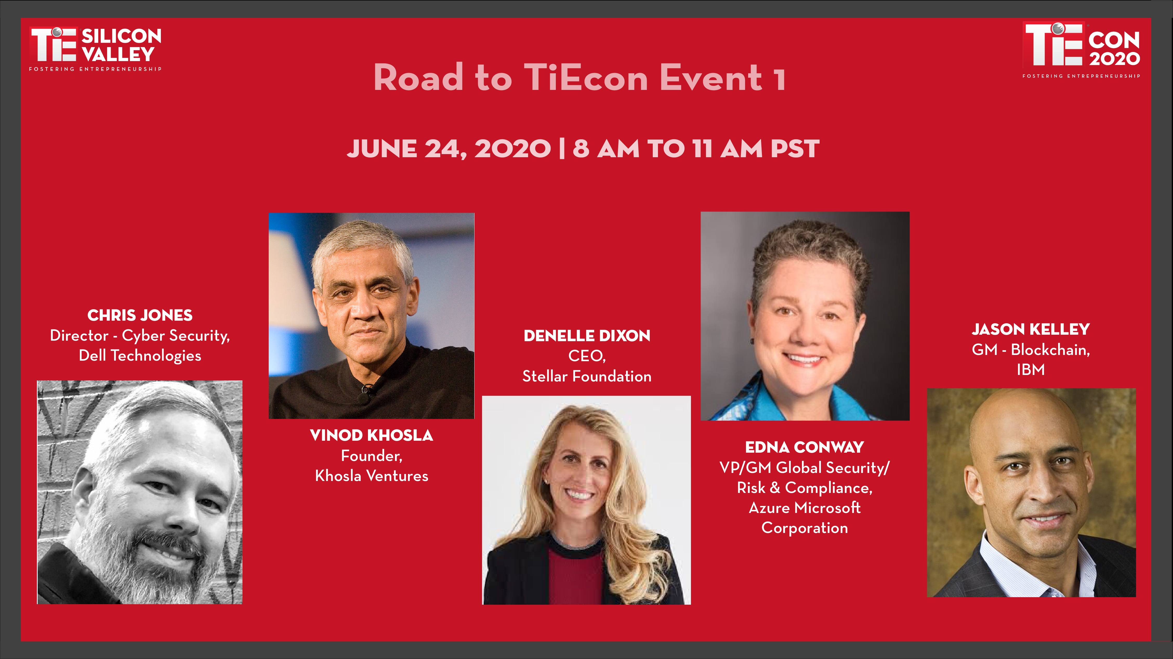 Road to TiEcon 2020
