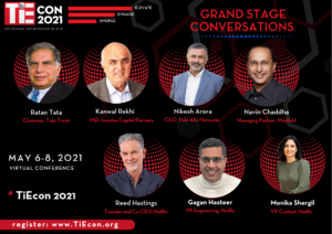 TiEcon 2021 Grand Stage Speakers